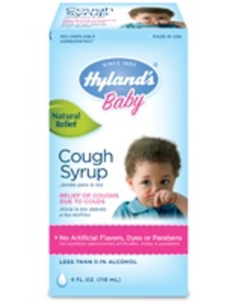 Hyland's Baby Cough Syrup 4oz