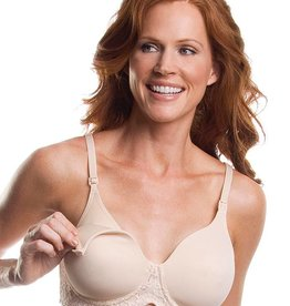Leading Lady 405 Lace Band Wire Free Nursing Bra