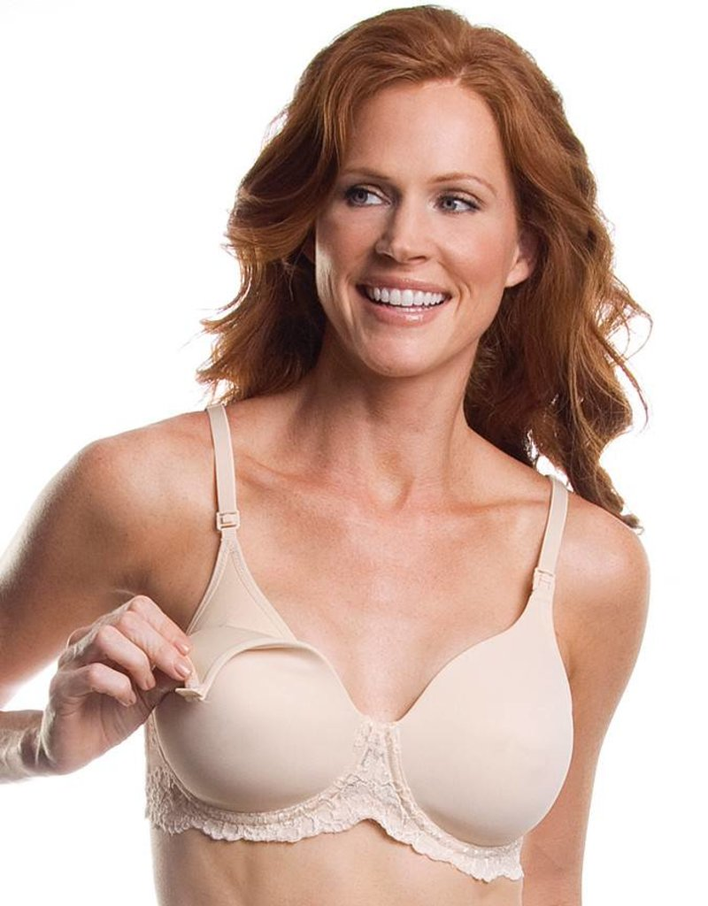 2c4438736 406 Lace Band Underwire Nursing Bra - New Baby New Paltz