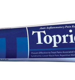 Topricin Pain Relief and Healing Cream Tube 2 oz