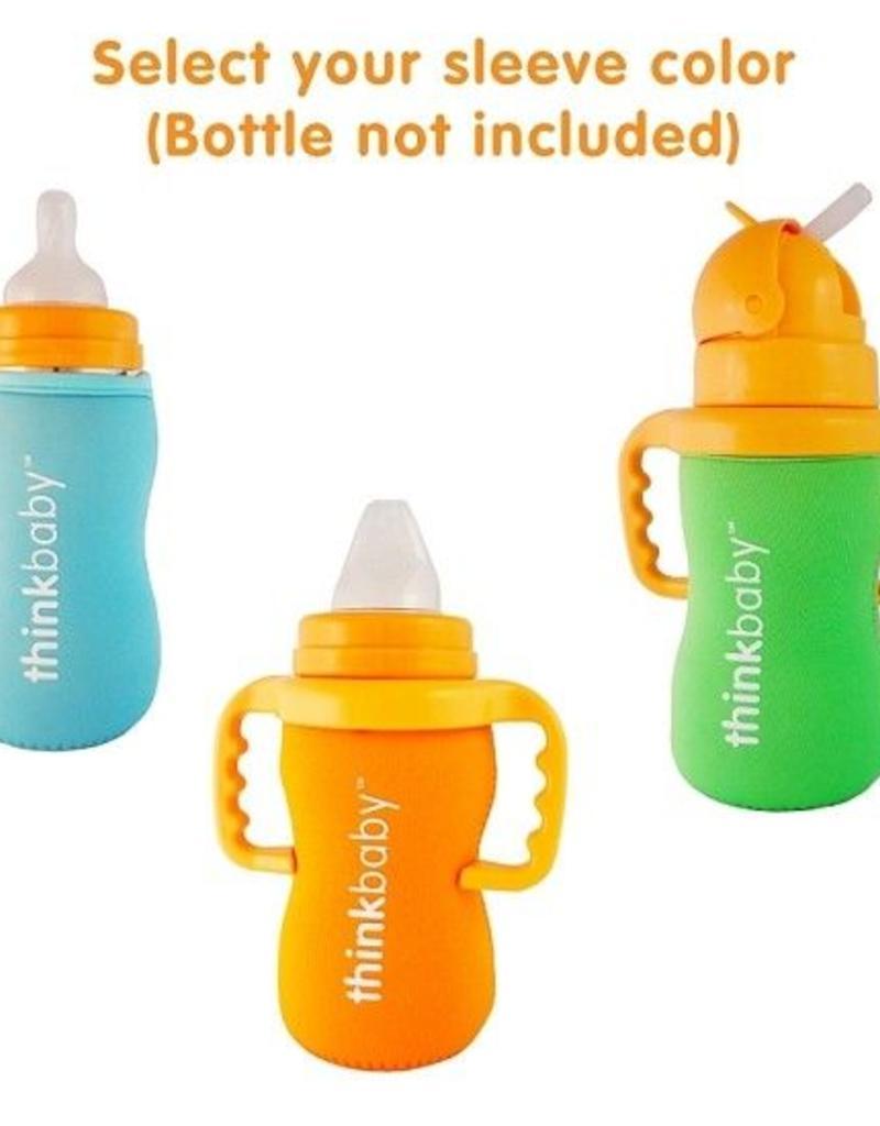 Thinkbaby Neoprene Thermal Bottle Sleeve- Green