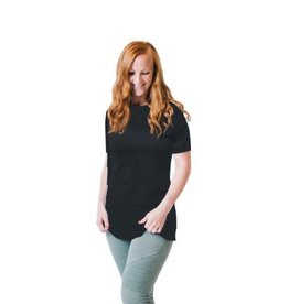 Undercover Mama Nursing Shirt Black S/S