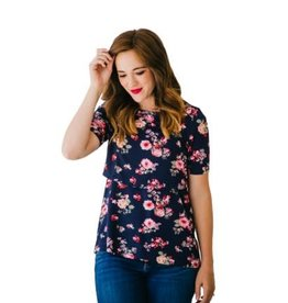 Undercover Mama Nursing Shirt Floral S/S
