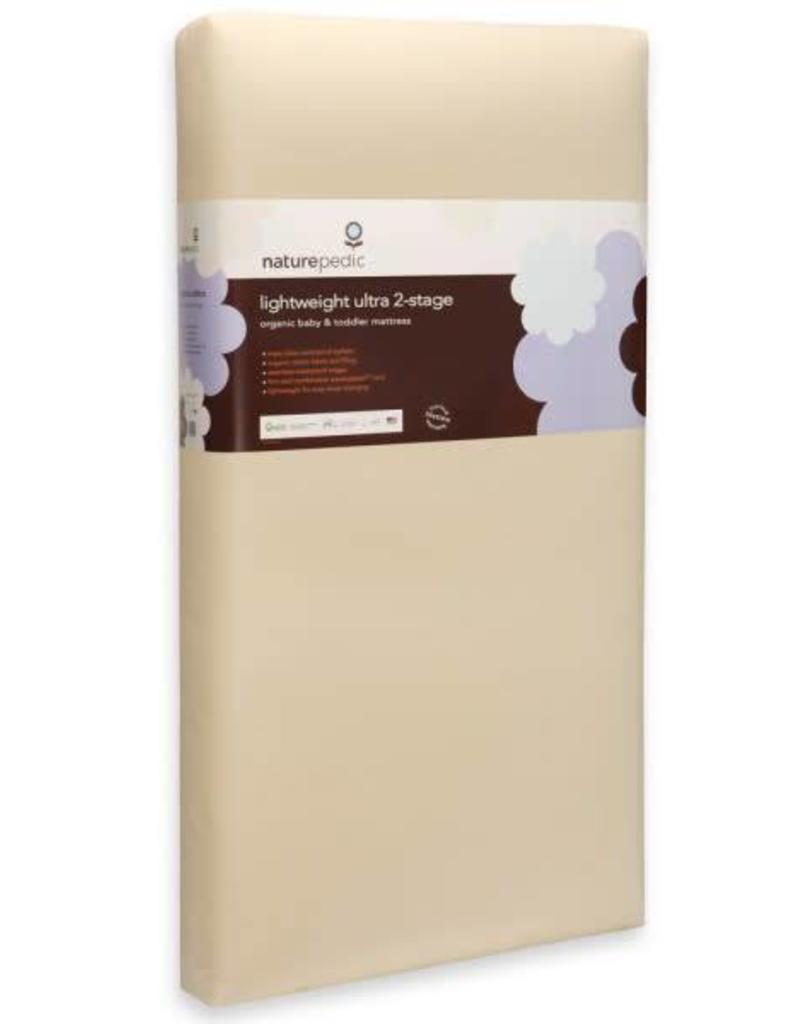 Lightweight Organic Cotton Ultra 2-Stage Crib Mattress (Lightweight Series)