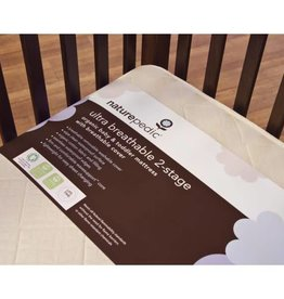Ultra Breathable 2-Stage Organic Crib Mattress (Lightweight Series)