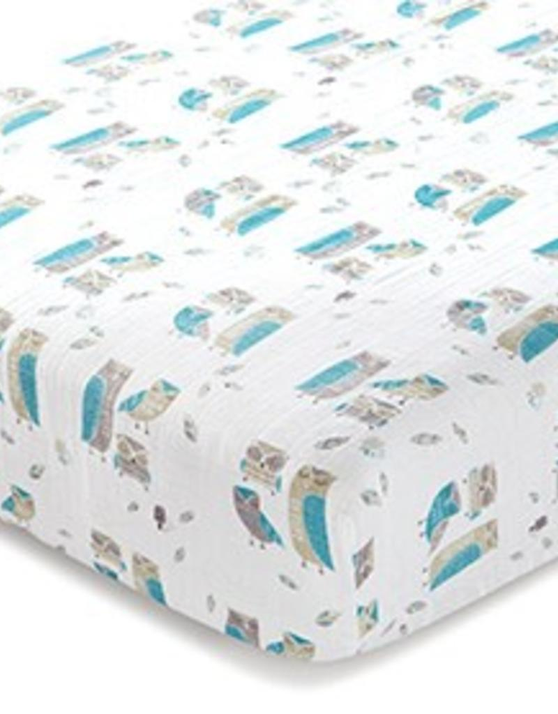 Aden and Anais Organic Crib Sheet
