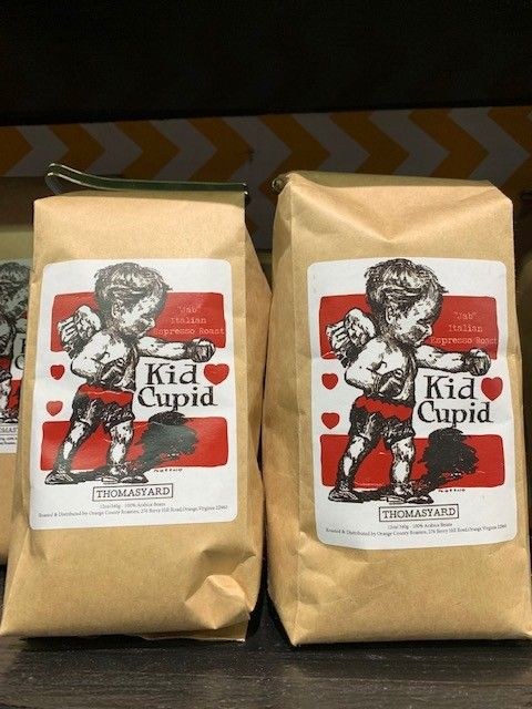 Orange County Coffee Roasters Thomasyard Bolivian Dark Roast Left  Hook 16 oz