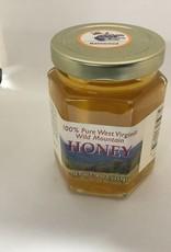 Mountain State Honey Company Mtn State Honey 9 oz. Basswood Hex Jar