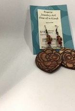 M&M Jewlery M&M Earring 18 Pressed flowers