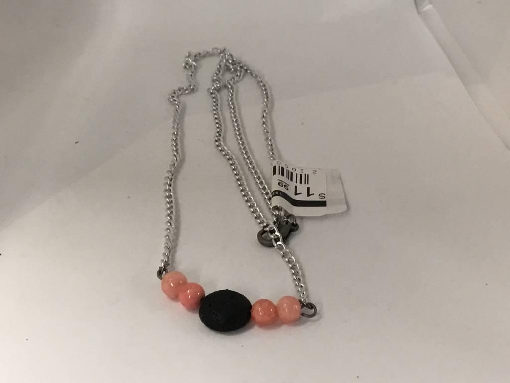 M&M Jewlery M&M Necklace 11 Pink