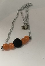 M&M Jewlery M&M Necklace 11 Orange