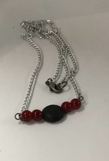 M&M Jewlery M&M Necklace 11 Red