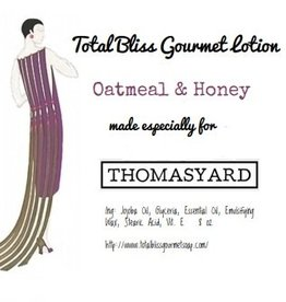 Total Bliss Gourmet Lotions Total Bliss Gourmet Lotion Oatmeal & Honey