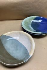 JoJo Pottery medium tray bowls