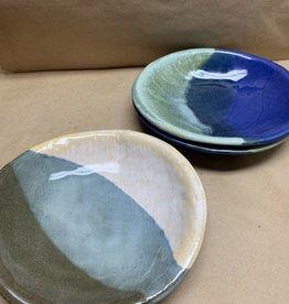 JoJo Ceramic Pottery medium tray bowls