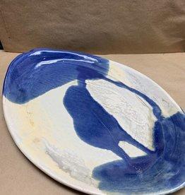 JoJo Ceramic Pottery Imprint Plate