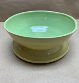 Randy Selbe Artisan Randy Selbe Bowl w/Attached Plate