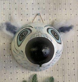 Maggi Rhudy Maggi Gourd Mask Spiffy Polar Bear