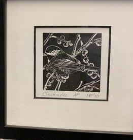 Maggi Rhudy Maggi Prints Chickadee Small