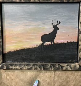 William Fridley William Fridley Painting Deer Meadow