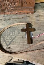 William Fridley Cross/WV Necklace Walnut