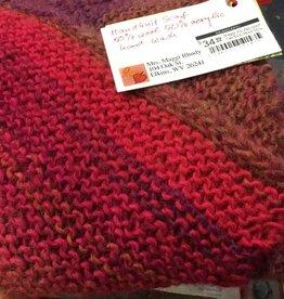 Maggi Rhudy Maggi Zig zag scarf Fall 50% Wool 50% Acrylic