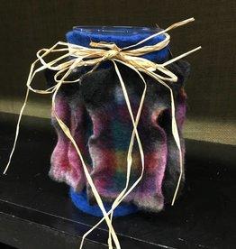 Susan Hicks Melas Design Hand Felted Whirligig Vase (Susan Hicks)