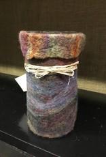 Susan Hicks Melas Design Hand Felted Vase (Susan Hicks)
