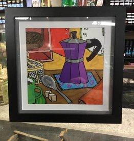 Susan Hicks Moka Pot Joy by Melas design