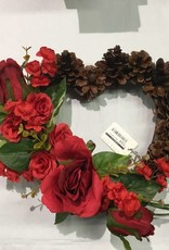 Heart wreath #1