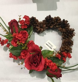 Heart wreath #1