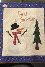 Effie Neff  Build Snowman Wall Art