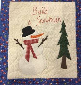 Effie Neff  Build Snowman Wall Art
