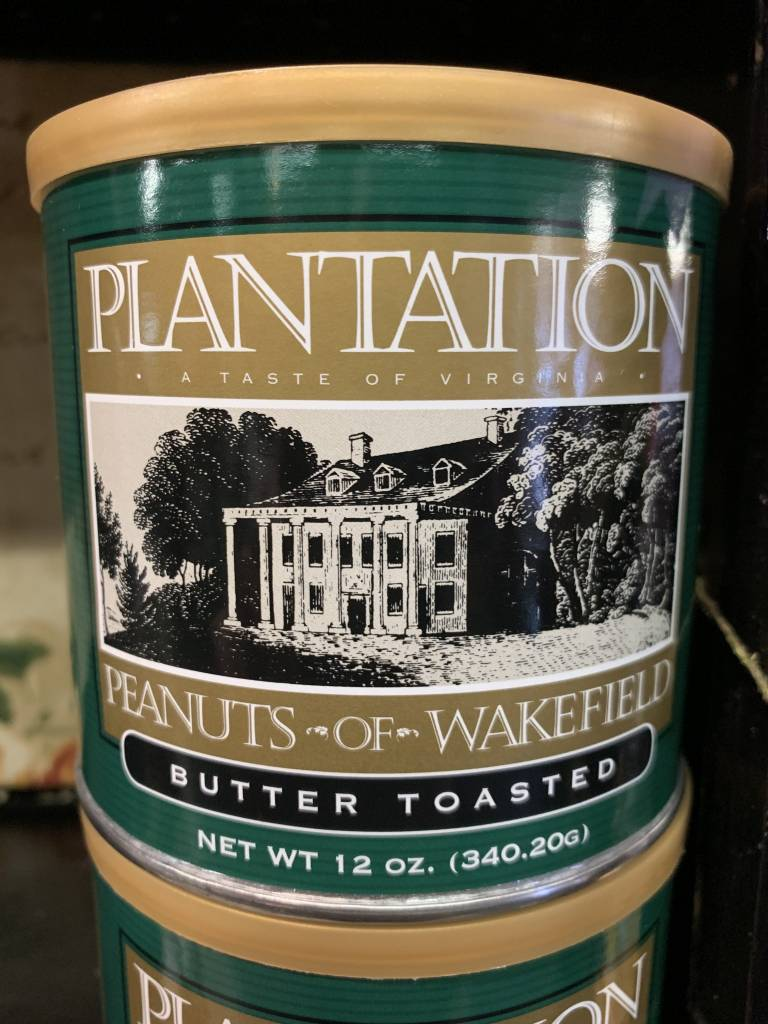 Plantation Peanuts of Wakefield Plantation Peanuts 12 oz. Butter Toasted