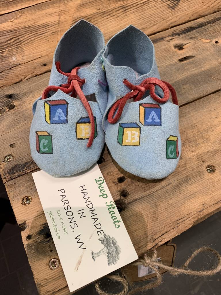 Deep Roots Farm Deep Roots Farm Baby Mocs - Handmade