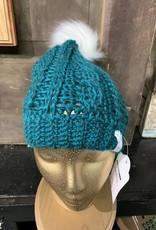 Crafty Little Snowbird Snowbird Crochet Pom - cable cuyahoga