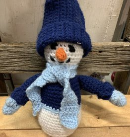 Crazy Crocheters Snowman