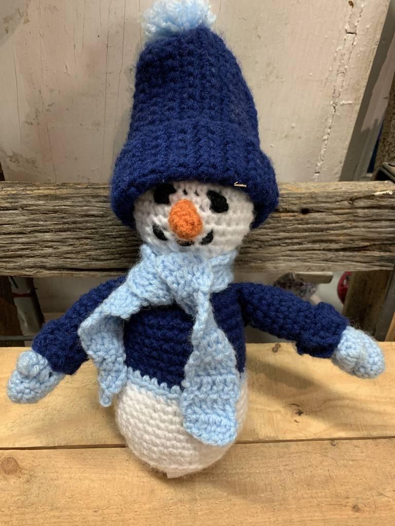 Crazy Crocheters Snowman