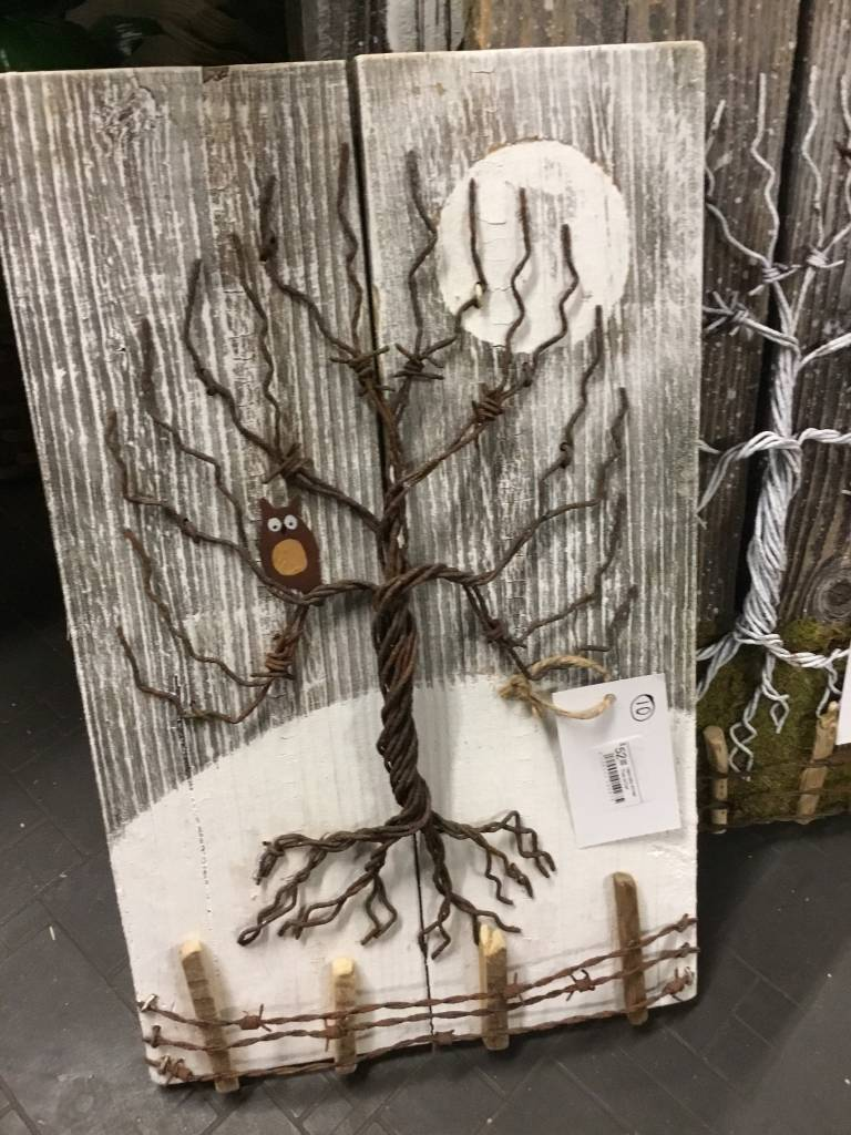 Matt Newhall Newhalls Winter Tree w/Owl