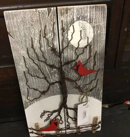 Matt Newhall Newhalls Winter Wire Tree Cardinals