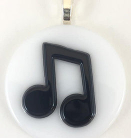 Appalachian Art Gallery AAG music note necklace