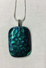Appalachian Art Gallery AAG fused glass necklace