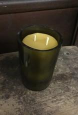 12oz Vanilla Wine Bottle Candle Thomasyard