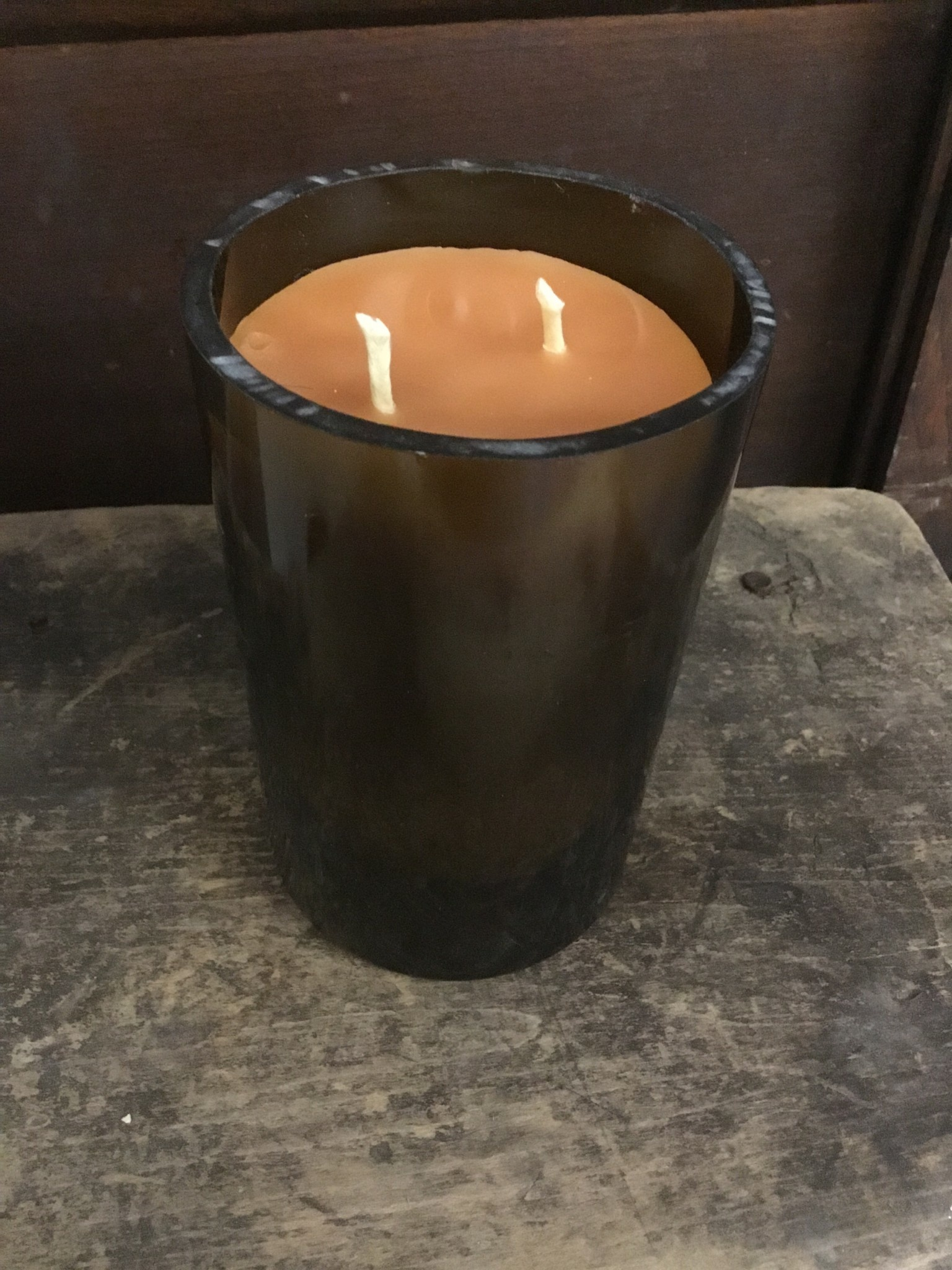 12oz Citrus Wine Bottle Candle Thomasyard