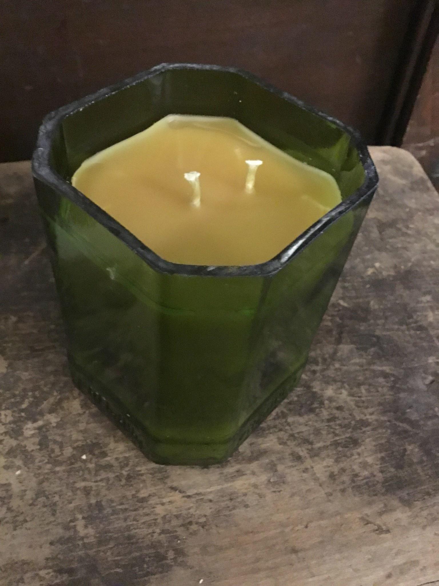 12oz Spring Wine Bottle Candle Thomasyard