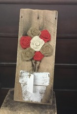 Newhalls Burlap Flower Bouquet