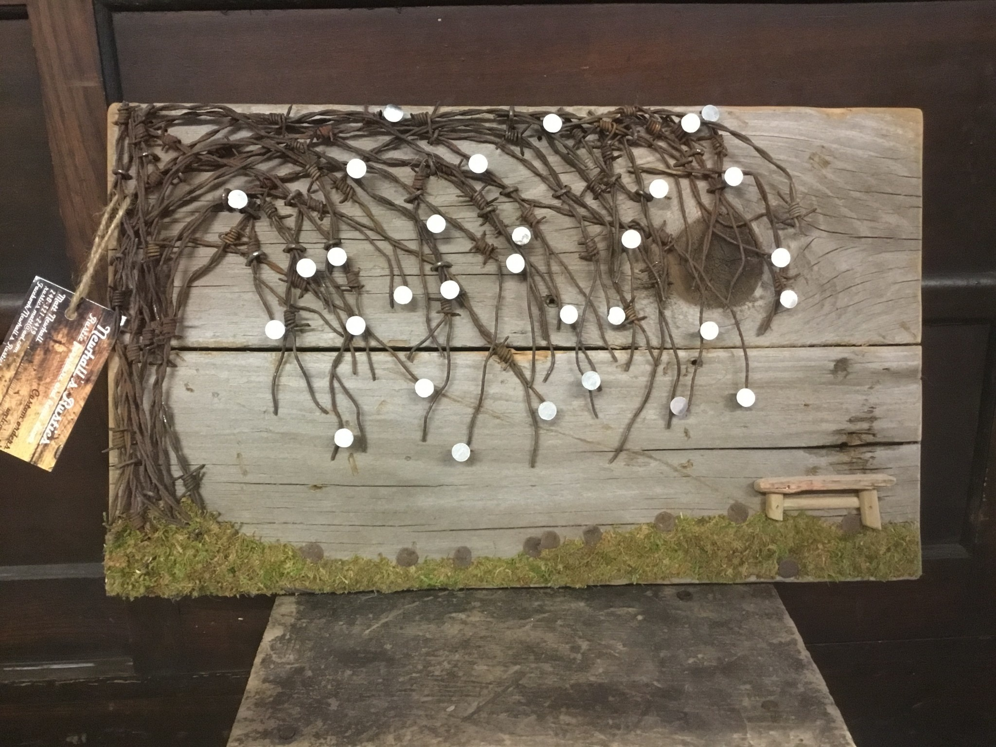 Newhalls Wire Tree Bench