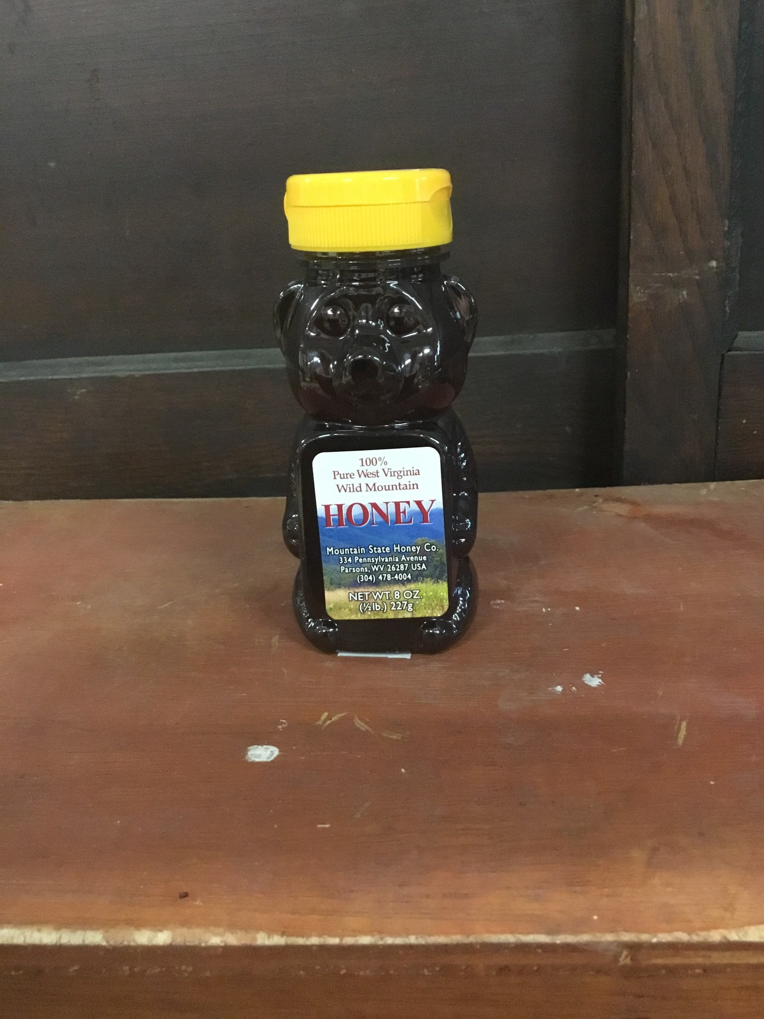 Mountain State Honey Company Mtn State Honey 8 oz. Wildflower Bear