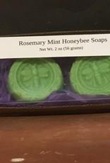 Mountain State Honey Company Mtn State Honey Soap Rosemary Mint Honeybee
