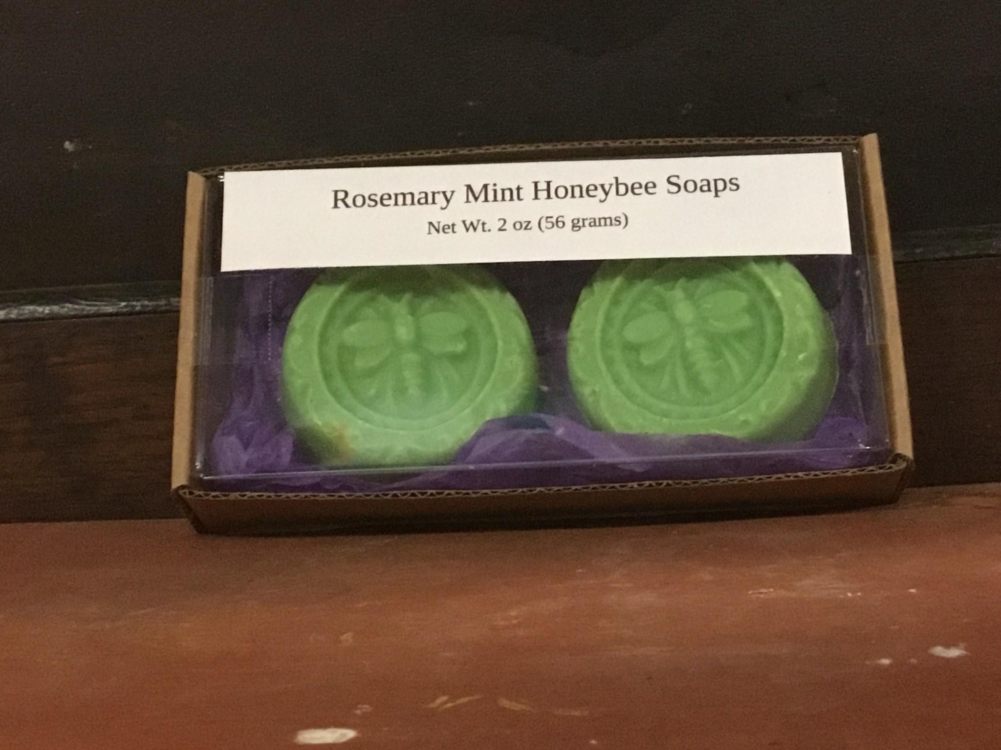 Mountain State Honey Company Rosemary Mint Mtn State Honey  Honeybee Soap